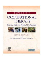 Pedretti's Occupational Therapy, 6th edition
