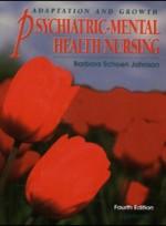 Adaptation and Growth Psychiatric-Mental Health Nursing (4th ed )