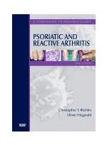 Psoriatic and Reactive Arthritis- A Companion to Rheumatology