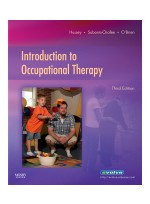 Introduction to Occupational Therapy,3/e
