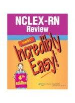 NCLEX-RN Review Made Incredibly Easy 4e