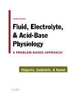 Fluid Electrolyte and Acid-Base Physiology,4/e