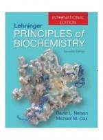 Lehninger Principles of Biochemistry 7/E, International Edition