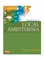Handbook of Local Anesthesia, 6th