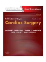 Kirklin/Barratt-Boyes Cardiac Surgery,4/e(2Vols)