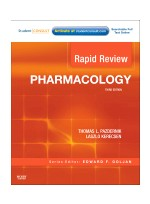 Rapid Review Pharmacology, 3/e
