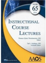 Instructional Course Lectures Vol 65 (2016년)